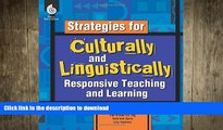READ  Strategies for Culturally and Linguistically Responsive Teaching and Learning - Strategy