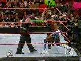 Raw-Jeff Hardy vs Shelton Benjamin MITB Qualifying Match
