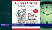 READ PDF Christmas Coloring Book: A Holiday Coloring Book for Adults (Adult Coloring Books)