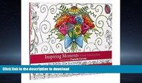 "FAVORIT BOOK ""Inspiring Moments"" Pocket Edition Inspirational Adult Coloring Book READ EBOOK"