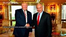 US-Wahlkampf: Trump und Clinton treffen Netanjahu