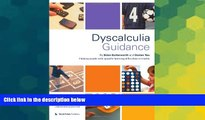 Must Have PDF  Dyscalculia Guidance: Helping Pupils with Specific Learning Difficulties in Maths