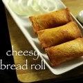 cheesy bread roll recipe _ veg stuffed bread roll recipe