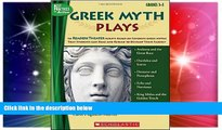 Must Have PDF  Greek Myth Plays: 10 Readers Theater Scripts Based on Favorite Greek Myths That