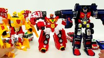 Carbot Rescue Police School Bus FireTruck Truck Ambulance Vehicle Transfomers Robot Car Toys
