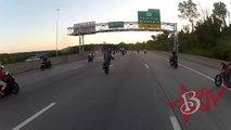 Motorcycle ACCIDENT Street Bike CRASHES Wheelie FAIL On Highway Stunt Riding WRECK Blox Starz