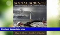 Must Have PDF  Social Science: An Introduction to the Study of Society (14th Edition)  Best Seller