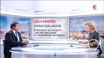 """Hollande à Calais """"à huit mois de la présidentielle, c'est pathétique"""", déclare Jacob (LR)"""