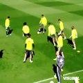 Cristiano Ronaldo amazing skill vs. Marcelo in training