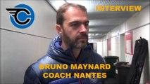 HH Interview 2016-09-24 Bruno Maynard Coach Corsaires de Nantes - D1 - Clermont VS Nantes