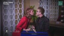 Céline Dion embrasse ce célèbre youtubeur sur la bouche!