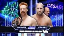 WWE June 9th 2014 John-Cena Dean Ambrose Roman Reigns Vs The Wyatt Family