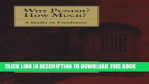 [PDF] Why Punish? How Much?: A Reader on Punishment Full Colection