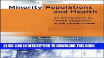 [PDF] Minority Populations and Health: An Introduction to Health Disparities in the U.S. Full Online