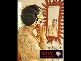 Asian Bridal With Brown Color Wedding Dresses Saree And Golds - Beautiful Bridesmaid Suite Pic Idea