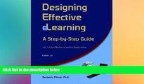 Big Deals  Designing Effective eLearning: A Step-by-Step Guide (Effective eLearning Design)