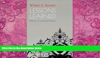 Big Deals  Lessons Learned: Reflections of a University President  Free Full Read Most Wanted