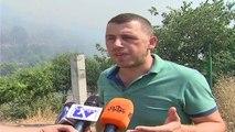 Vihet nën kontroll zjarri në Shëngjin - Top Channel Albania - News - Lajme