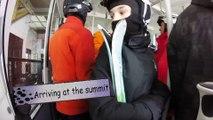 Ski Jay Peak 2016 with epic wipeout!