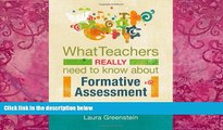 Big Deals  What Teachers Really Need to Know About Formative Assessment  Best Seller Books Most
