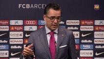 """Josep Vives: """"Estamos muy tranquilos con el  caso Neymar y ya hemos llegado a un acuerdo por Can Rigalt"""" [ESP]"""
