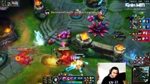 LoL Funny Fails Moments #12  Epic Lee Sin Insec Fail with Sion   League of Legends (SoloMiD)