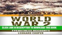 [PDF] World War 2: German Tank Crew Stories: Eyewitness Accounts (German War, WW2, World War II,