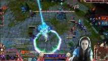 TOP 5 Twitch Girls RAGE compilation. League of Legends. !