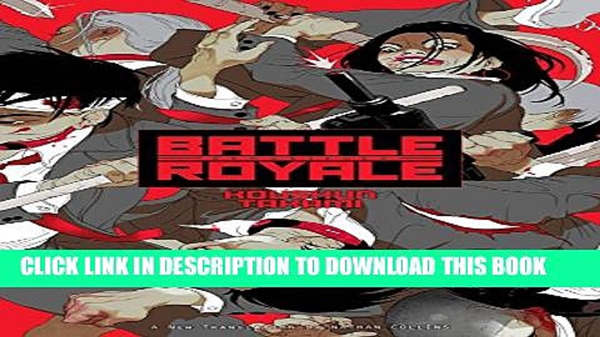 Battle Royale Remastered Novel PAPERBACK NEW BOOK Battle