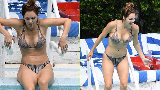 Katharine McPhee Bares Her Bikini Bod in Miami