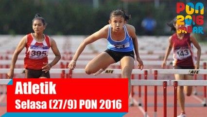 Atletik - Pagi, Selasa (27/9) Part 1