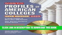 [PDF] Profiles of American Colleges with CD-ROM (Barron s Profiles of American Colleges) Full