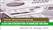 [PDF] The Accounting Procedures Guidebook: Second Edition Popular Colection