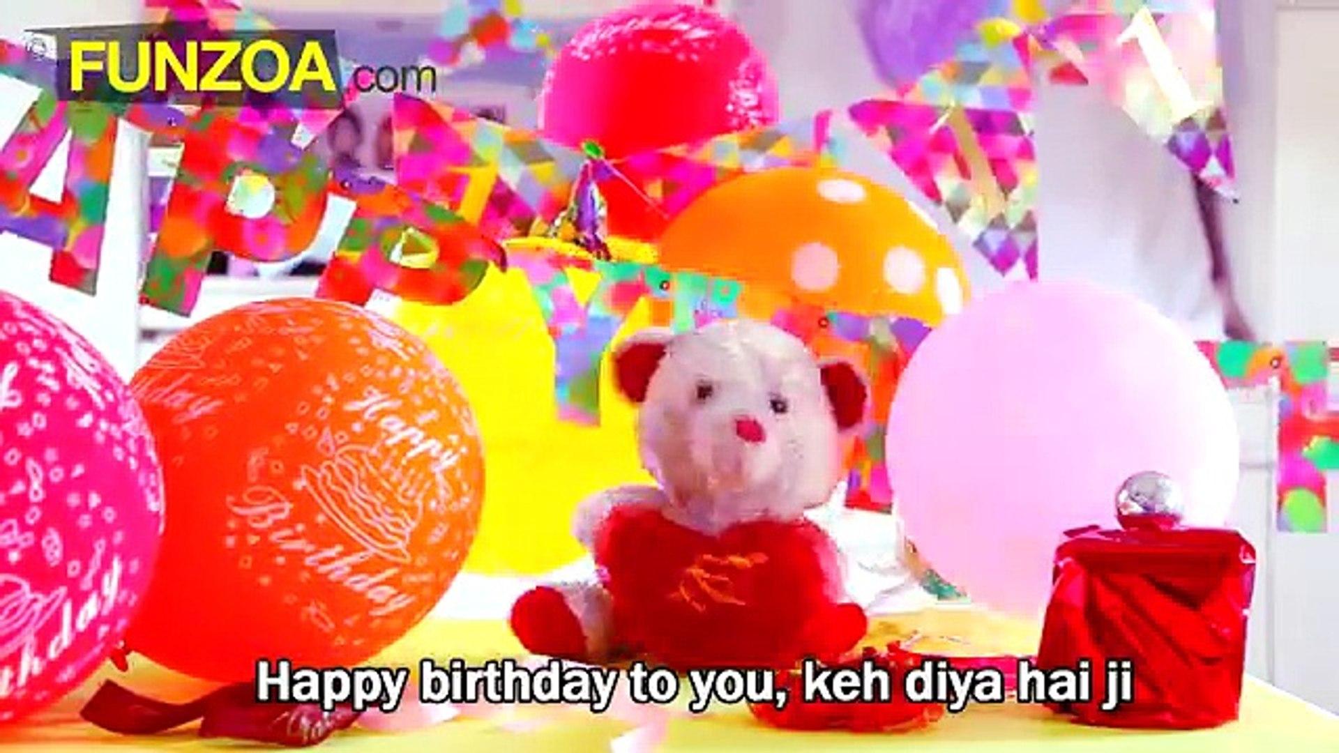 Funny Hindi Birthday Song - Funzoa Mimi Teddy