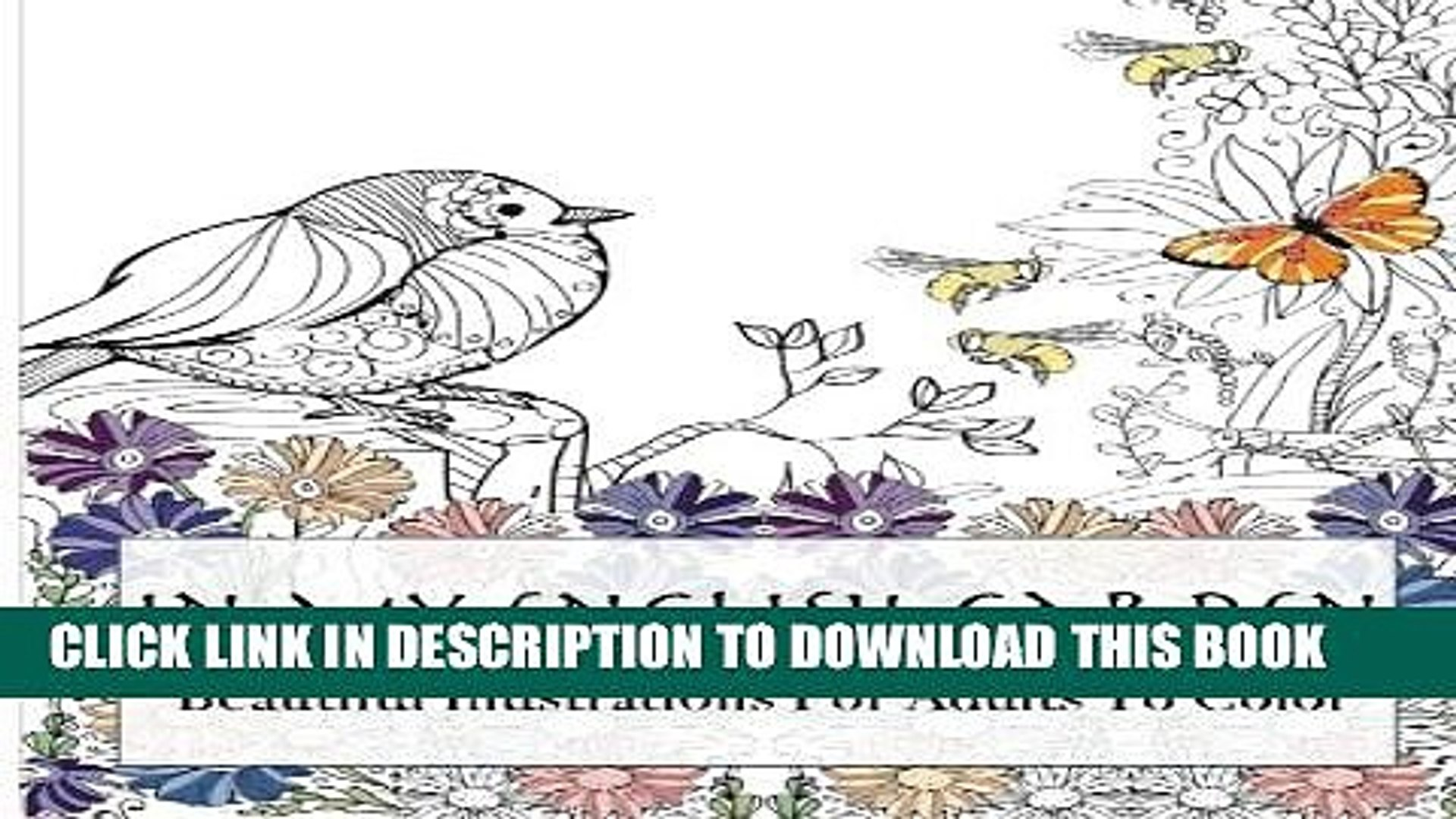 [PDF] In My English Garden: Beautiful Illustrations For Adults To Color (Beautiful Adult Coloring