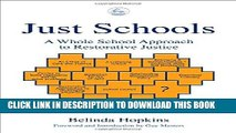 [PDF] Just Schools: A Whole School Approach to Restorative Justice Full Collection