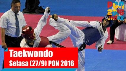 Taekwondo - Siang, Selasa (27/9)