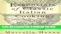 [PDF] Essentials of Classic Italian Cooking Popular Online