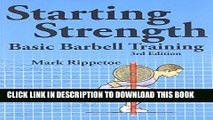 Collection Book Starting Strength:  Basic Barbell Training, 3rd edition
