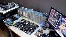 Final Countdown joué par 70 lecteurs de disquettes et disques durs