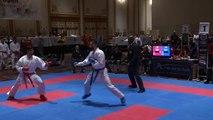 2016 US Open Elite Male Team Kumite Power Rangers USA fight 1