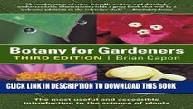 [PDF] Botany for Gardeners: Third Edition (Science for Gardeners) Popular Collection