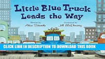 Collection Book Little Blue Truck Leads the Way board book