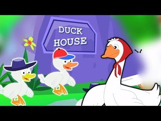 cinq petits canards | Cartoon pour les enfants | Compilation | Popular Comptine | Five Litte Ducks