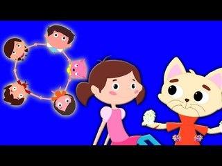 Ringa Ringa Roses   De bande dessinée pour les enfants   Popular Comptine