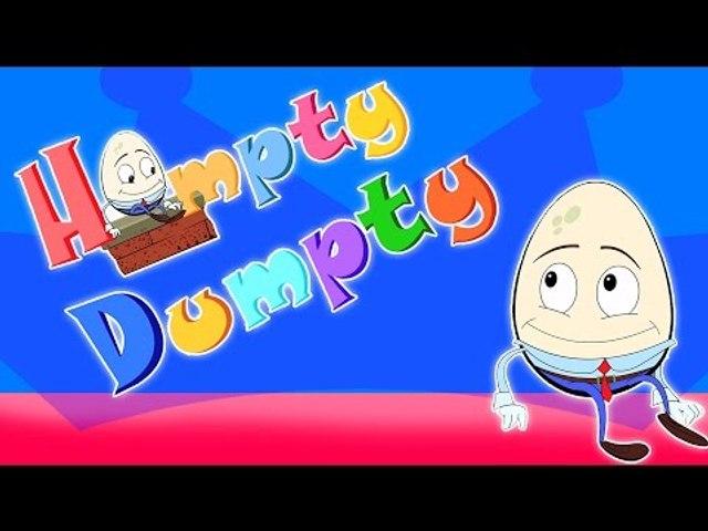 Humpty Dumpty | Compilation pour les enfants | Popular comptine | humpty dumpty sat sur un mur