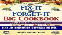 New Book Fix-It and Forget-It Big Cookbook: 1400 Best Slow Cooker Recipes!