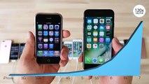 Du 2G au 7 Plus : toutes les générations d'iPhone comparées