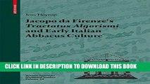 New Book Jacopo da Firenze s Tractatus Algorismi and Early Italian Abbacus Culture (Science