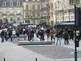 Emeutes anti CPE à Rennes en 2006